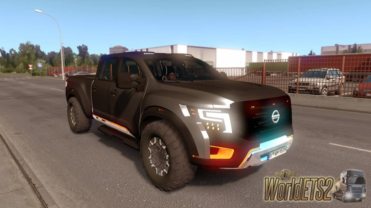 Passenger Car Nissan Titan Warrior For Euro Truck Simulator 2
