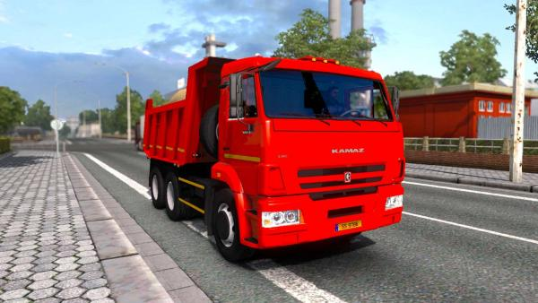 Mod tractor KamAZ-65116 and dump truck KamAZ-65115 for ETS 2