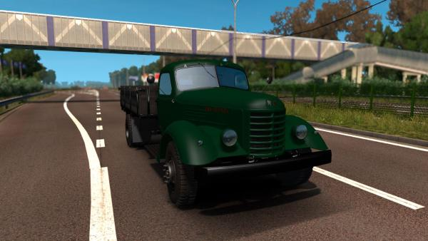 Mod Chinese truck FAW CA-10 for ETS 2