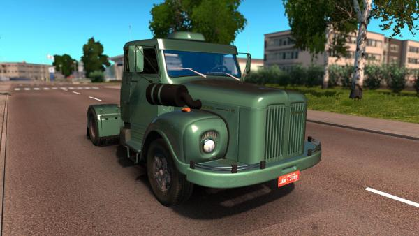 Truck mod Scania LS 111 and LS 110 for ETS 2
