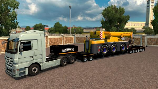 Heavy cargo mod Big Heavy Pack for ETS 2