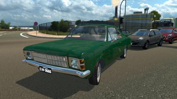 Chevrolet Opala SS car mod for ETS 2
