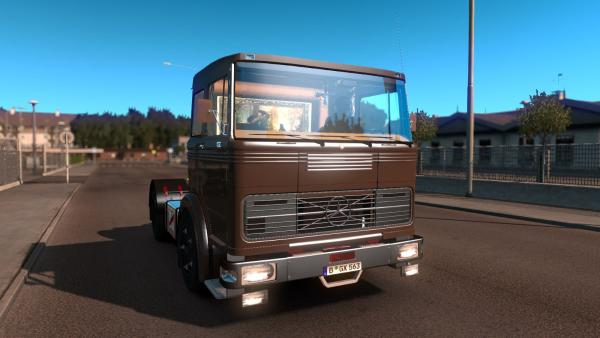 Truck mod Mercedes-Benz LPS 1632 for ETS 2