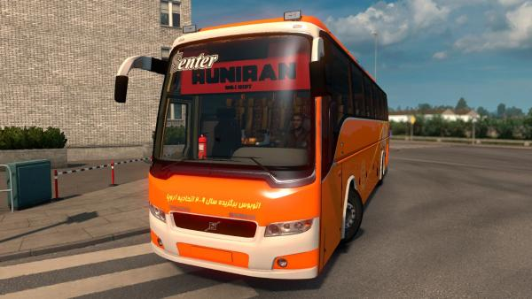 Bus mod Volvo B9R I Shift for ETS 2
