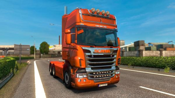 Мод тюнинга Scania R & Streamline by RJL для ETS 2