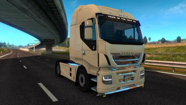 Tuning mod Iveco Hi-Way by YGZ for ETS 2