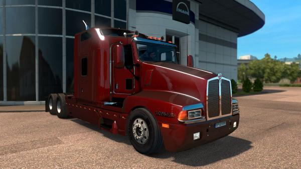 American truck mod Peterbilt and Kenworth for ETS 2