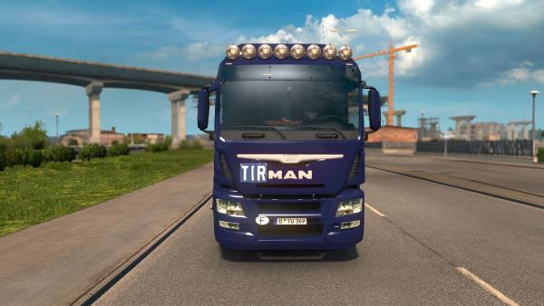 Mod truck MAN TGS Euro 6 for ETS 2