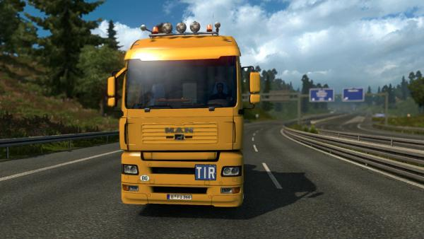 MAN TGA heavy truck mod for ETS 2