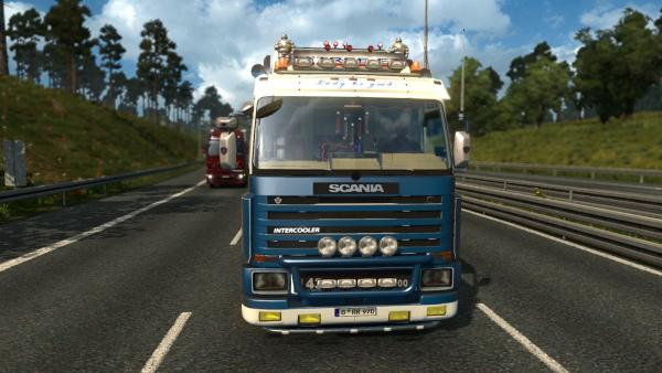 Mod commercial truck Scania 143M for ETS 2