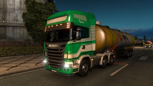 Realistic mod - Improved Company Trucks for ETS 2