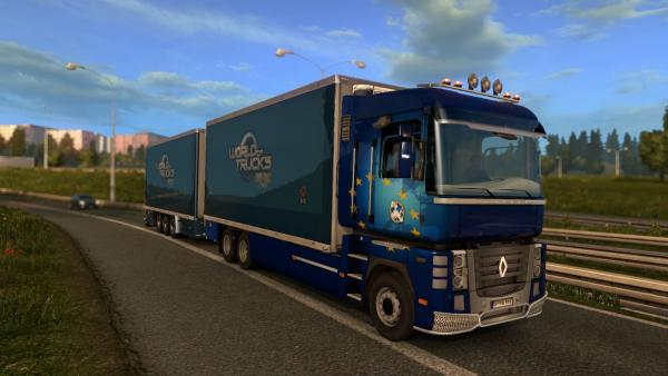 Mod tandem trailers BDF for ETS 2