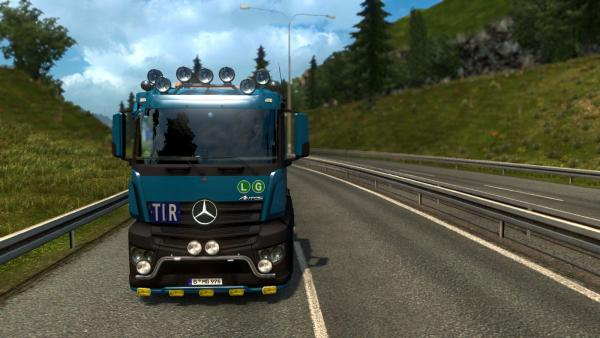 Truck mod Mercedes-Benz Antos 12 for ETS 2