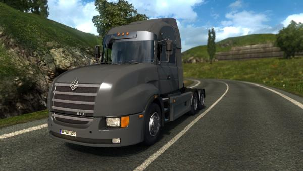 Mod Russian truck Ural 6464 for ETS 2