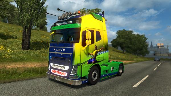 Tuning mod Volvo FH16 2012 by Ohaha for ETS 2