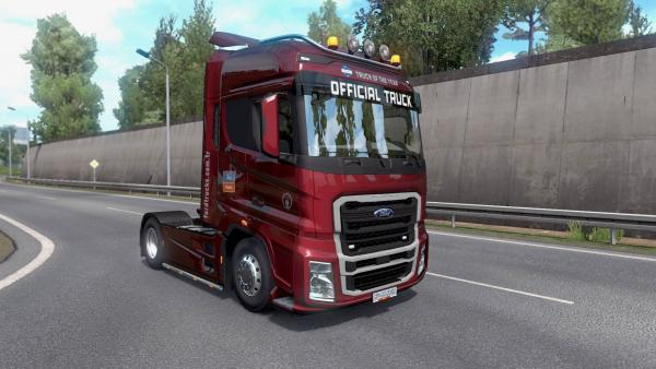 Ford F-MAX heavy truck mod for ETS 2