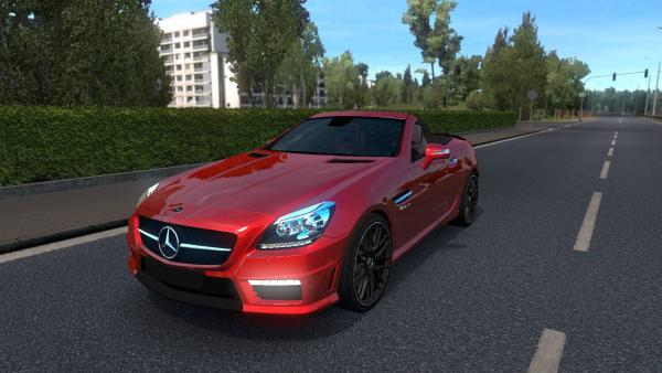 Mod passenger car Mercedes-Benz SLK 55 AMG for ETS 2