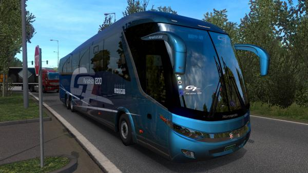 Mod of the regular bus Marcopolo G7 1200 for ETS 2