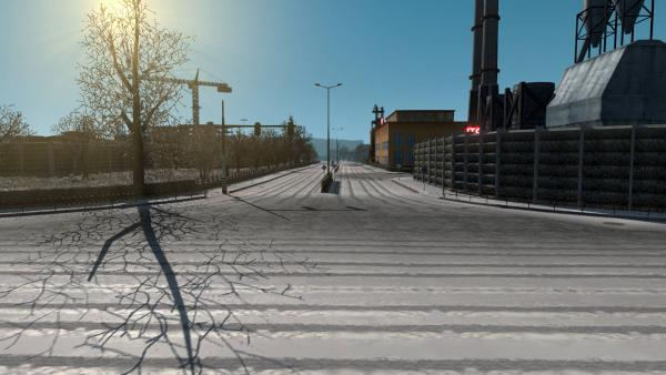Mod New Real Winter HD 4K for ETS 2