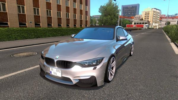 Mod passenger car BMW M4 F82 for ETS 2