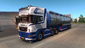 Mod Scania R500 C&M Transport with tank for ETS 2