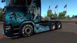 Mod Tire pack for trucks and trailers for ETS 2