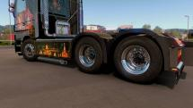 Mod Pak wheels Smarty for ETS 2