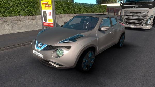 Mod urban crossover Nissan Juke for ETS 2