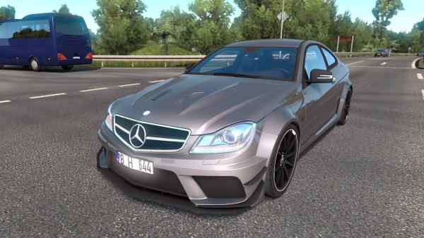 Mod passenger car Mercedes-Benz C63 AMG for ETS 2