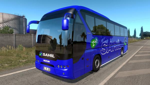 Mod comfortable bus Neoplan Tourliner for ETS 2