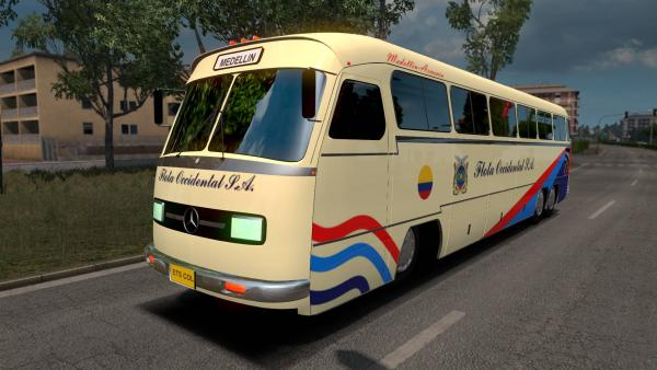 Mod bus Mercedes-Benz O326 for ETS 2