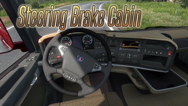 Physics mod Steering Brake Cabin for ETS 2