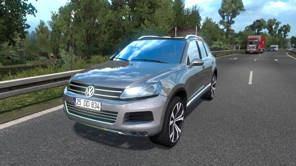 Mod car Volkswagen Touareg for ETS 2