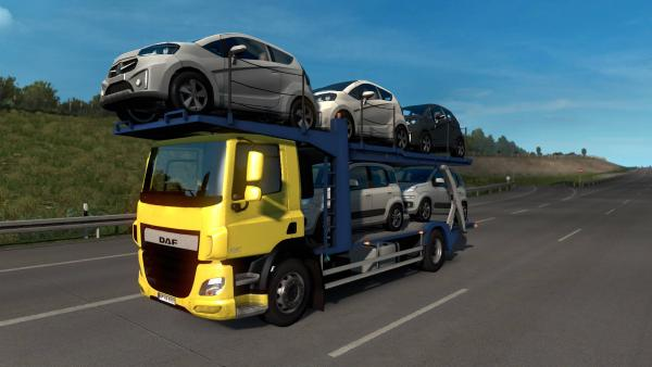 Truck Traffic Pack mod for ETS 2