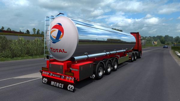 New tank mod - Cistern Menci for ETS 2