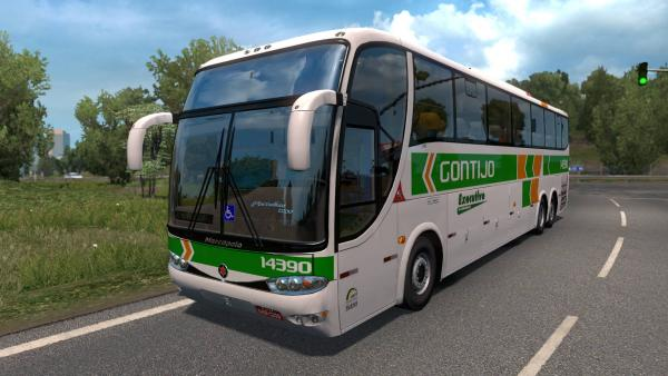 Bus mod Marcopolo Paradiso G6 1200 for ETS 2