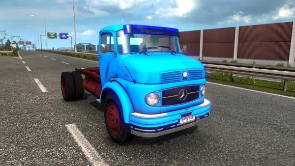 Two-axle truck L 1111 and LS 1111 tractor unit for ETS 2