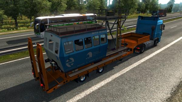 Railway Cargo Pack mod for ETS 2