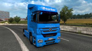 Mod Mercedes-Benz Axor 1840 MP3 for ETS 2