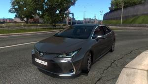 Mod Toyota Corolla 2020 for ETS 2