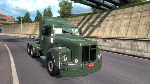 Scania 111s truck mod for ETS 2