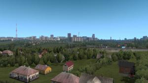 Mod Novosibirsk Region Map - NSK-Map for ETS 2