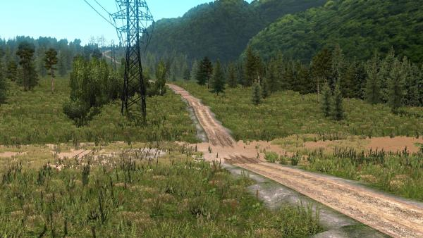 Mod map Harsh Russia Siberia R5 for ETS 2